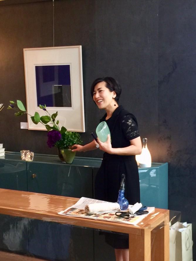 カッシーナ・イクスシー名古屋店3周年記念・スペシャルレッスンにて